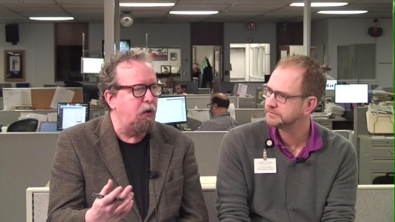 Watch it: Talking Oscars with Mark Hinson and William Hatfield