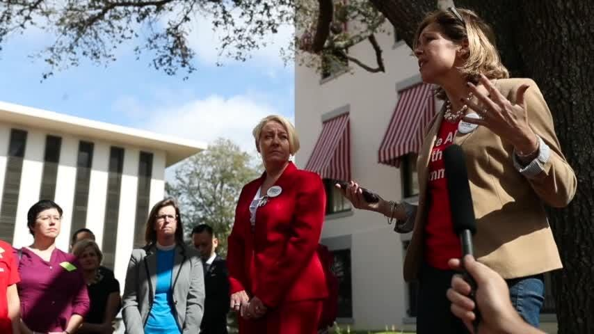 Moms Demand Action for gun sense in America head to the Capitol