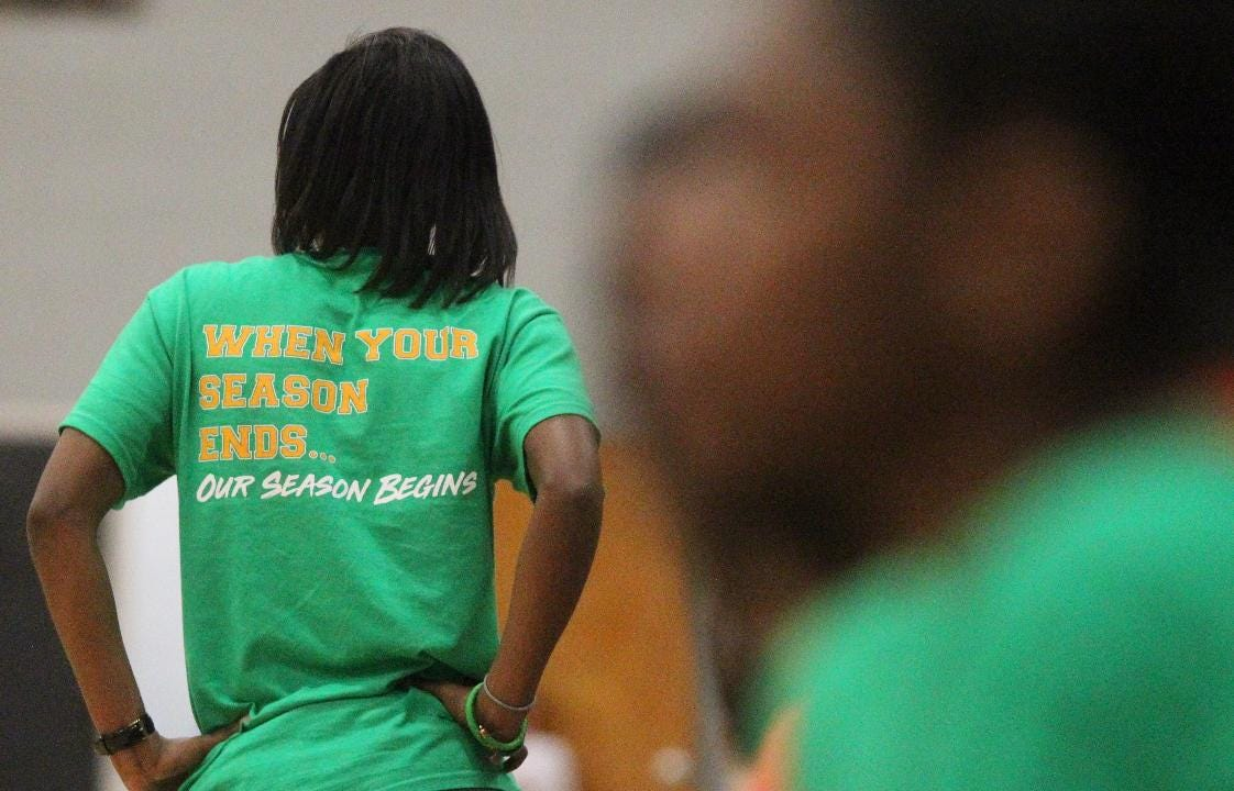 The FAMU DRS girls basketball team earned a 50-49 win over NFC in a Region 1-3A final, sending the Rattlers back to the state tournament in Lakeland where they will try for a fourth consecutive state championship.
