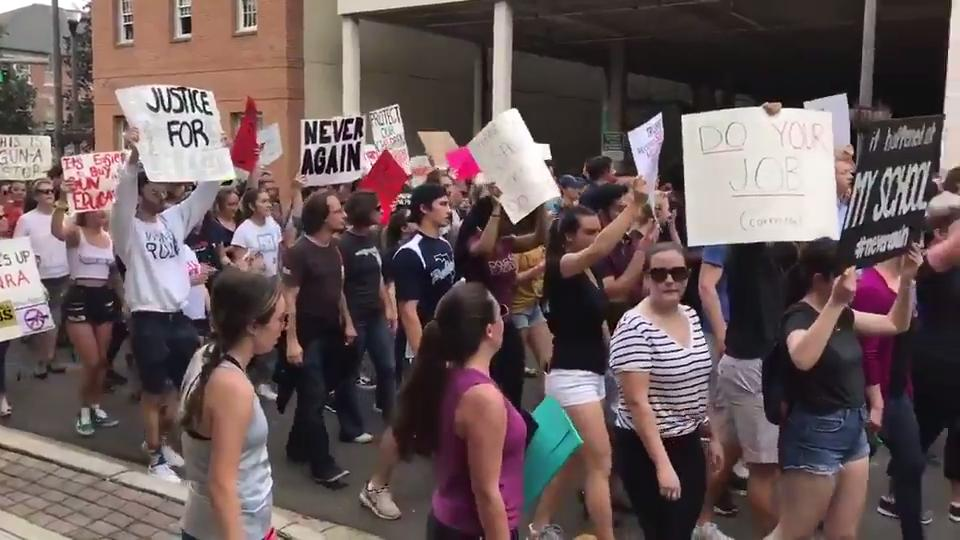 Raw video from March Against Gun Violence