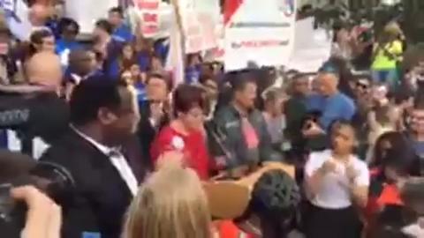 NeverAgain Rally: Gun control rally at the Capitol