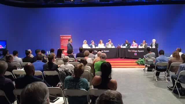 The Tallahassee Town Hall brought together residents and county and city commissioners on Feb. 22 at WFSU.