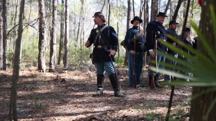 Civil War Reenactment at Natural Bridge