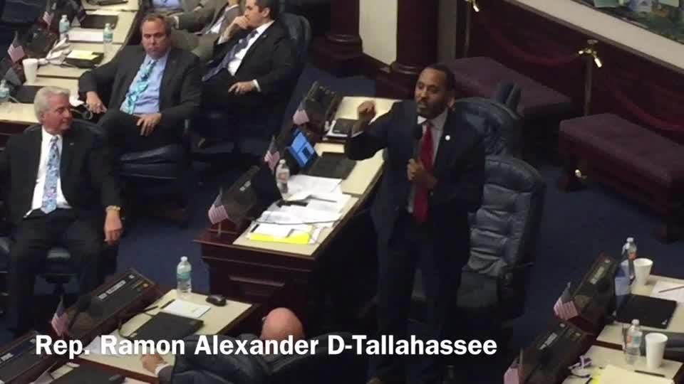 "Rep Ramon Alexander thinks the Florida Legislature made a half-hearted effort in writing new gun laws. He says lawmakers didn't ""leave it all on the field"""