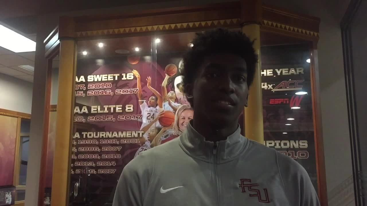 Watch it: FSU guard Terance Mann on earning a second consecutive NCAA Tournament berth