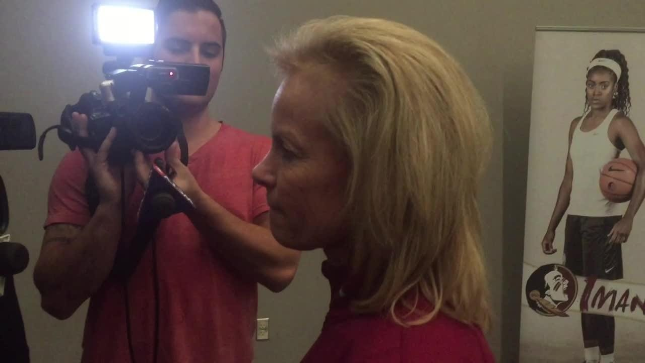 Watch it: FSU coach Sue Semrau talks after the Seminoles earned a 3 seed in the NCAA Tournament
