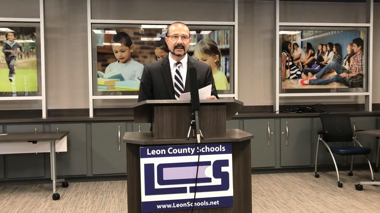 Superintendent Rocky Hanna said more than 50,000 students and teachers may have been affected by a data breach involving Florida Virtual School.