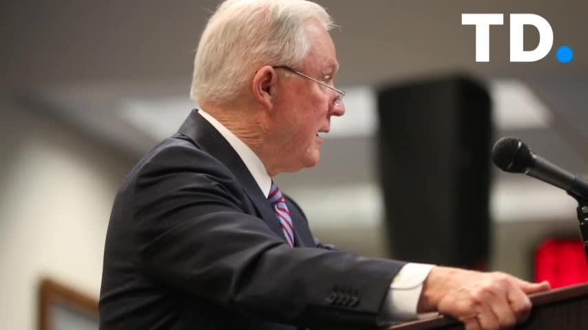 U.S. Attorney General Jeff Sessions speaks about the nation's opioid crisis in Tallahassee