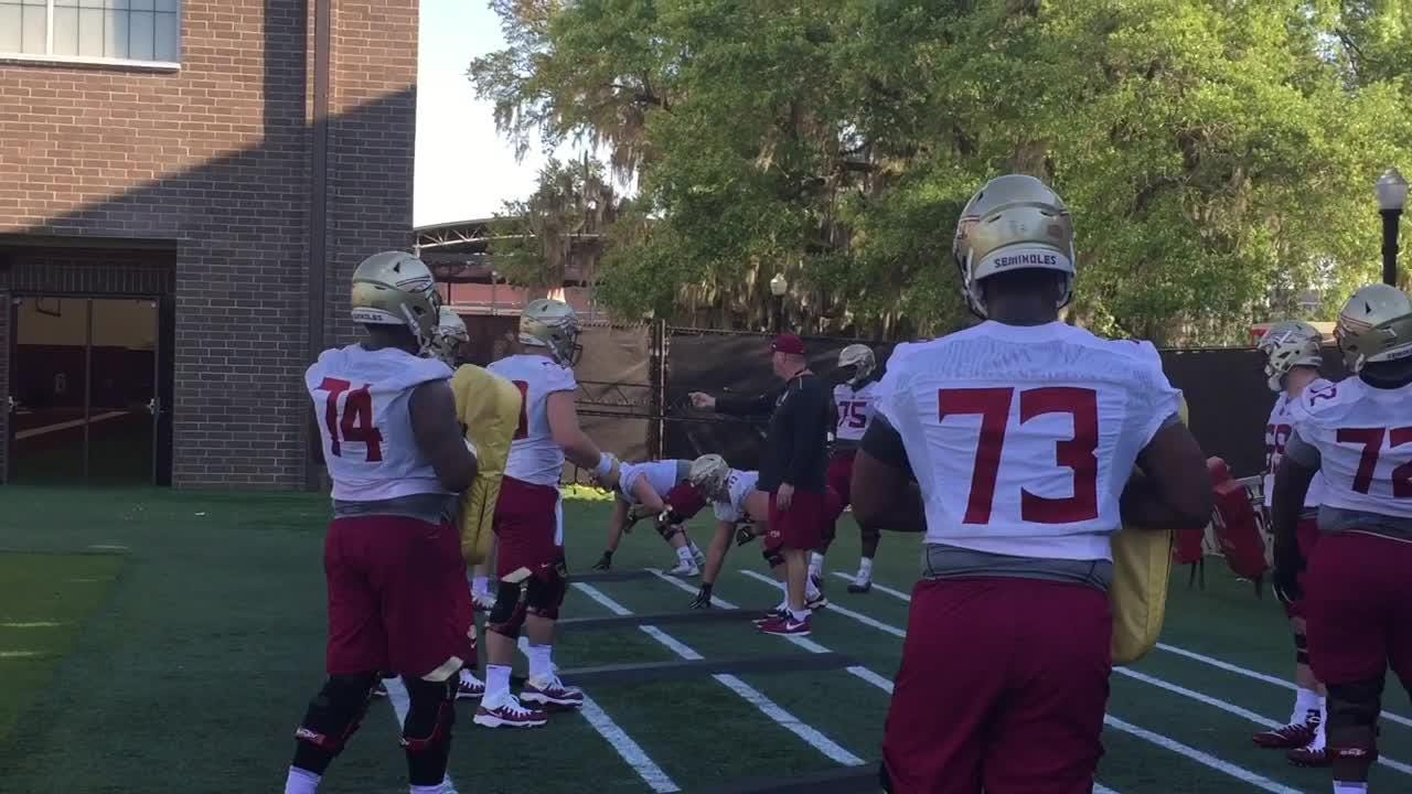 Nearly six minutes of highlights footage from the morning practice.