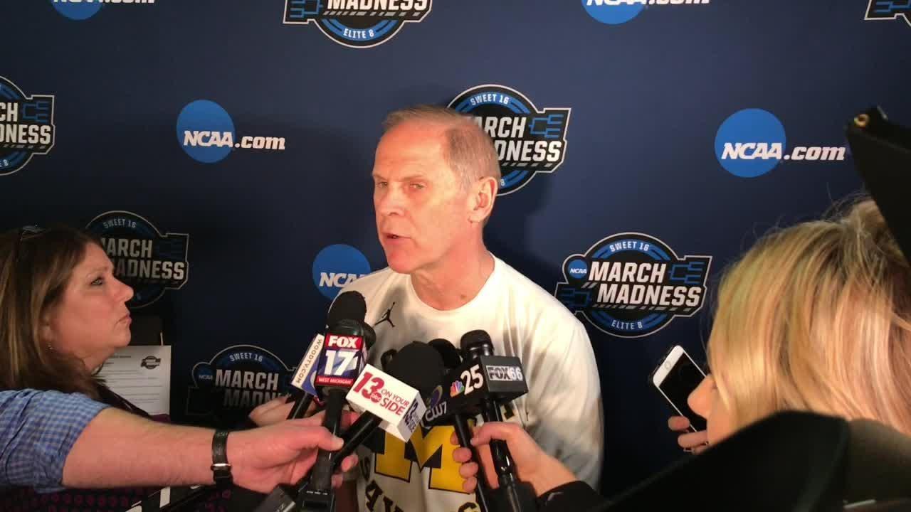 Watch it: Michigan coach John Beilein talks Elite 8