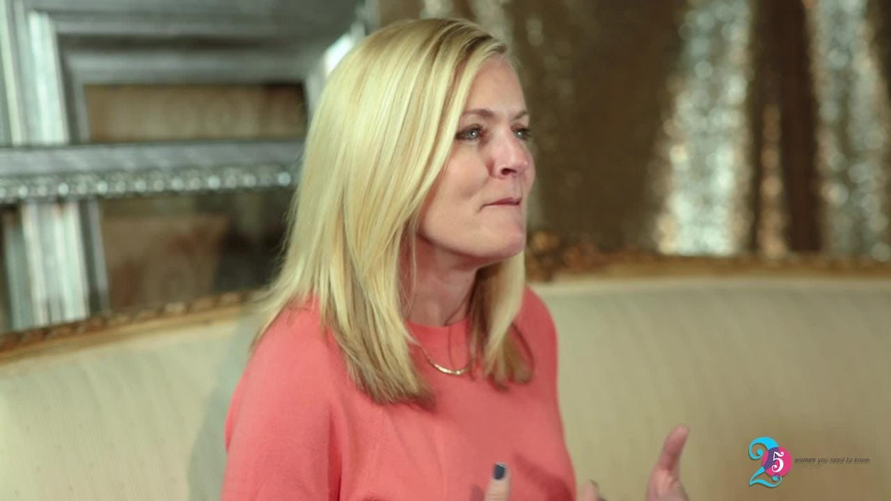 Watch it: 25 Women You Need to Know: Nan O'Kelley shares why she gives back