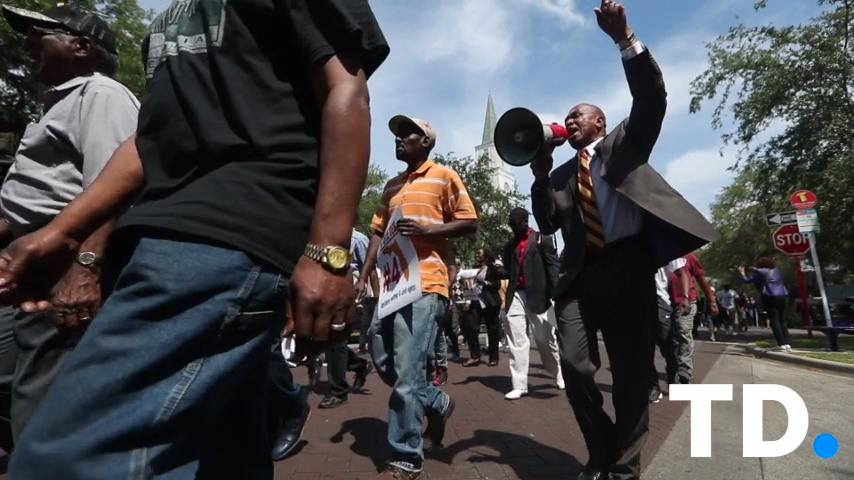 March to restore felon's voting rights