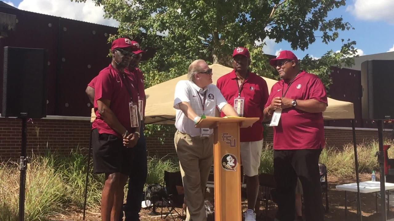 Watch it: FSU's first four African-American football players talk at Sod Talk
