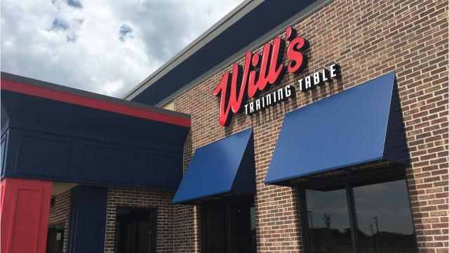 Wills Training Table To Temporarily Close For Remodel - Training table restaurant closing