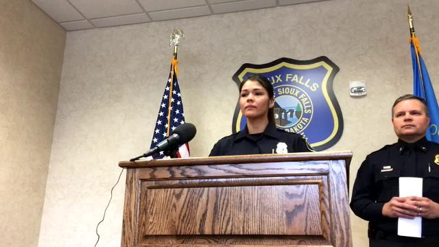 The Sioux Falls Police Department announced that Ofcr. Cynthia Holmquest is the new community resource officer.