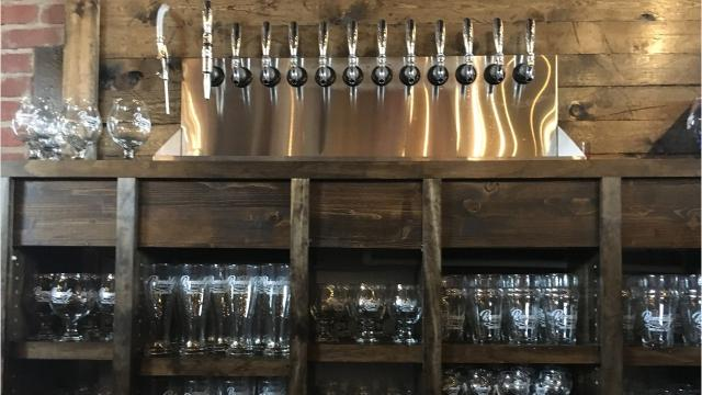 See inside the new brewpub at 8th and Railroad Center in the East Bank district of downtown Sioux Falls.
