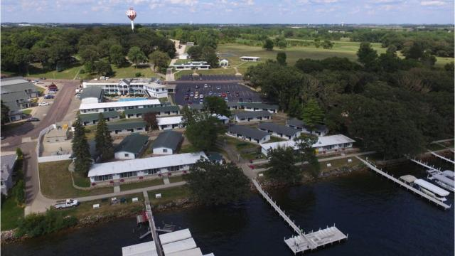 VIDEO: Tour the Inn at Okoboji, up for auction