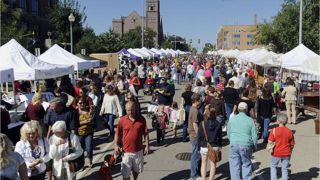 The 54th Annual Sidewalk Arts Festival is taking over downtown Saturday. With over 300 booths, there will be something for everyone. Here's what you need to know.