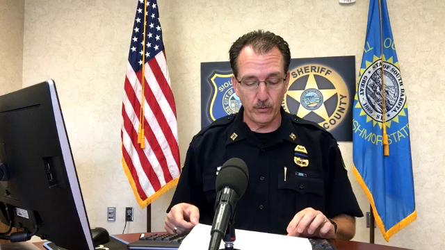Sioux Falls Police Capt. Loren McManus discusses a case of aggravated assault in which a Sioux Falls man bit off the tip of his friend's nose.