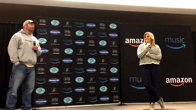 Garth Brooks and Trisha Yearwood spoke to the media ahead of their nine-show run at the Premier Center.