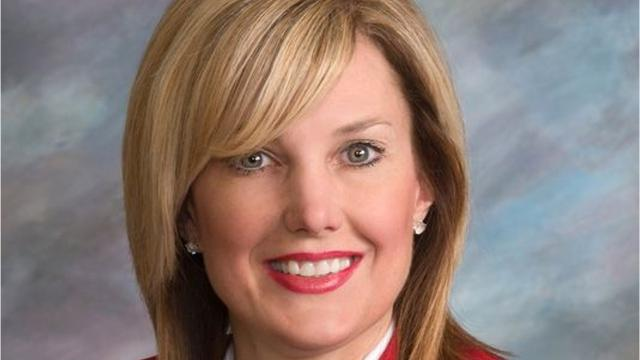 """A Republican state lawmaker faced calls to apologize Tuesday after she shared an image on Facebook depicting protesters being hit by a vehicle under the caption, """"All Lives Splatter."""""""