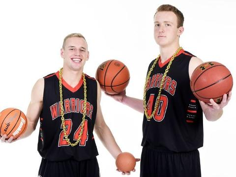 #ArgusMediaDay: Logan Uttecht and Zach Heins on playing basketball