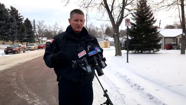 Police provide an update on a shooting that left two people dead outside of an apartment in northern Sioux Falls.