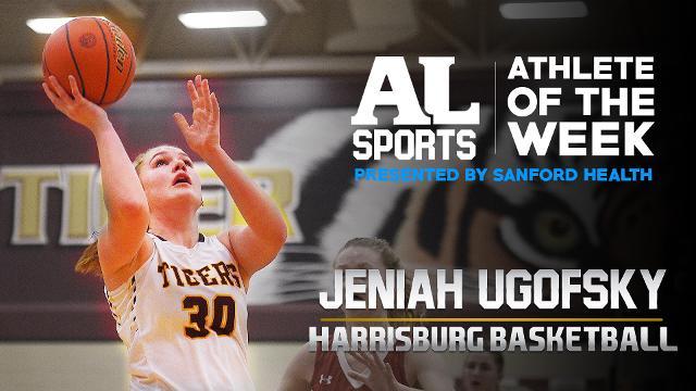 Meet this week's Argus Leader Athlete of the Week: Harrisburg junior Jeniah Ugofsky.