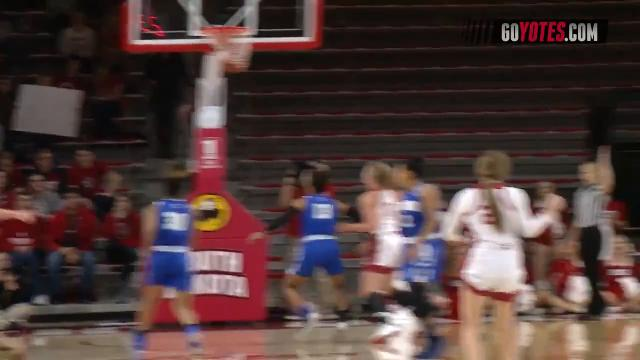 Highlights from the Coyote women's rout of Fort Wayne.