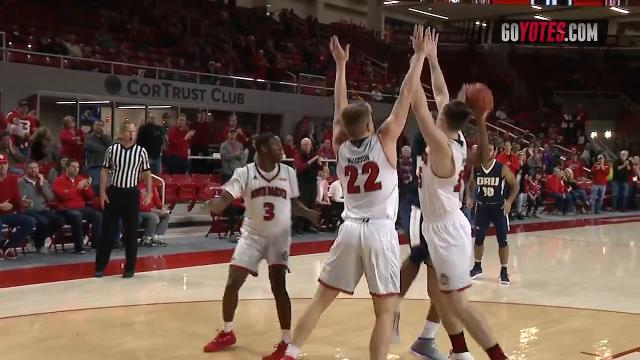 Highlights from the South Dakota Coyotes 82-70 win over the Oral Roberts Golden Eagles.
