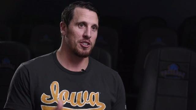 South Dakota native and former Vikings linebacker Chad Greenway talks about the Vikings' chance at a Super Bowl.  Sam Caravana / Argus Leader