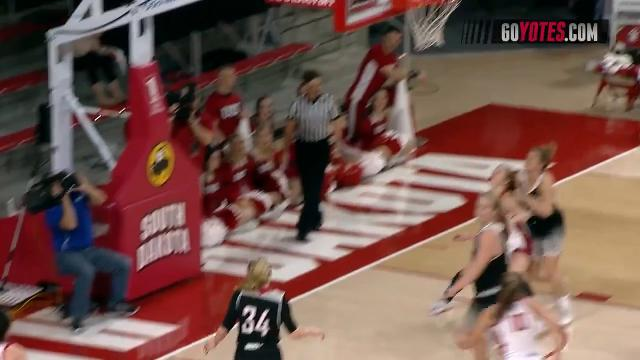 Highlights from the women's basketball game between USD women and Omaha on Saturday in Vermillion.