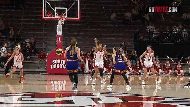 Highlights from the Coyotes' win over Western Illinois on Thursday night in Vermillion. Video courtesy: USD sports information.