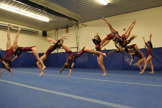 Jenni Giles on the challenges of being a taller gymnast.