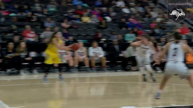 Highlights from the Jackrabbits' rout of Omaha.