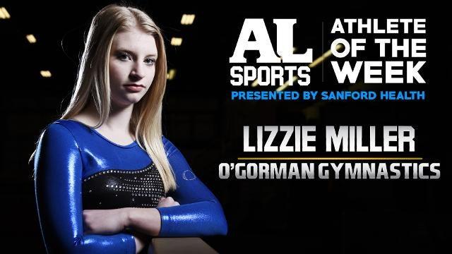 Meet the latest Argus Leader Athlete of the Week: O'Gorman gymnast Lizzie Miller