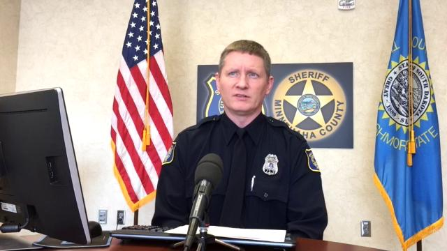 Police discuss a recent string of burglaries and go over the crime log.