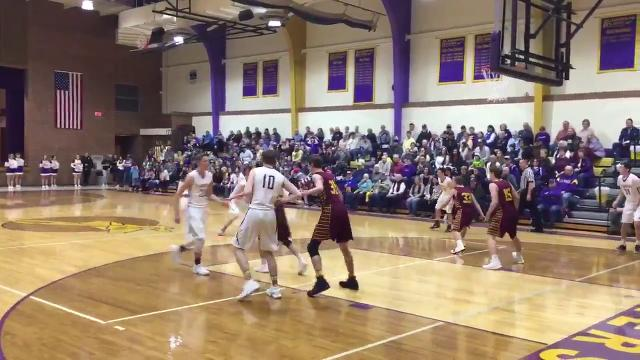 Flandreau's Dylan LeBrun scored his 2,000th career point Saturday night against De Smet.