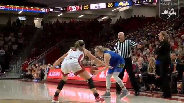South Dakota State highlights from their loss to the Coyotes on Wednesday night in Vermillion.