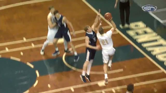 Highlights from the men's quarterfinal game Saturday night. Video courtesy NSIC and Midco Sports Net.