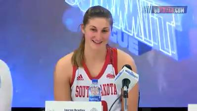 News conference: USD women's team on win over IPFW