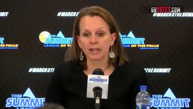 News conference: USD women on win over Oral Roberts