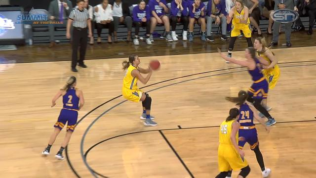 Summit League highlights: SDSU women 80, Western Illinois 51