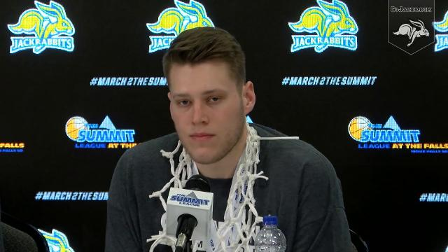 Video: SDSU vs. USD mens basketball Summit League press conference
