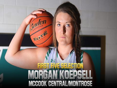 Meet 2017-18 First Five selection Morgan Koepsell, McCook Central/Montrose