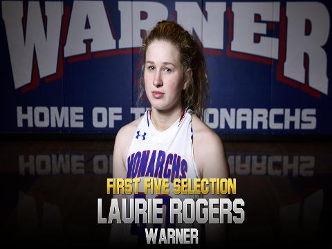 Meet 2017-18 First Five selection Laurie Rogers, Warner