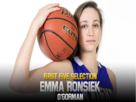 Meet 2017-18 First Five selection Emma Ronsiek, O'Gorman
