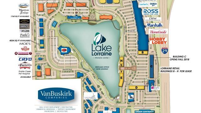 Drone Tour: Lake Lorraine mixed-use development