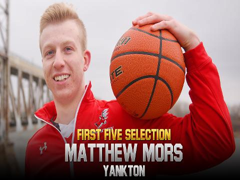 2018 First Five selection Matthew More