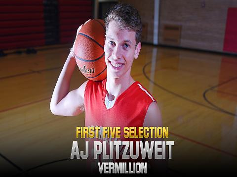 2018 First Five selection AJ Plitzuweit